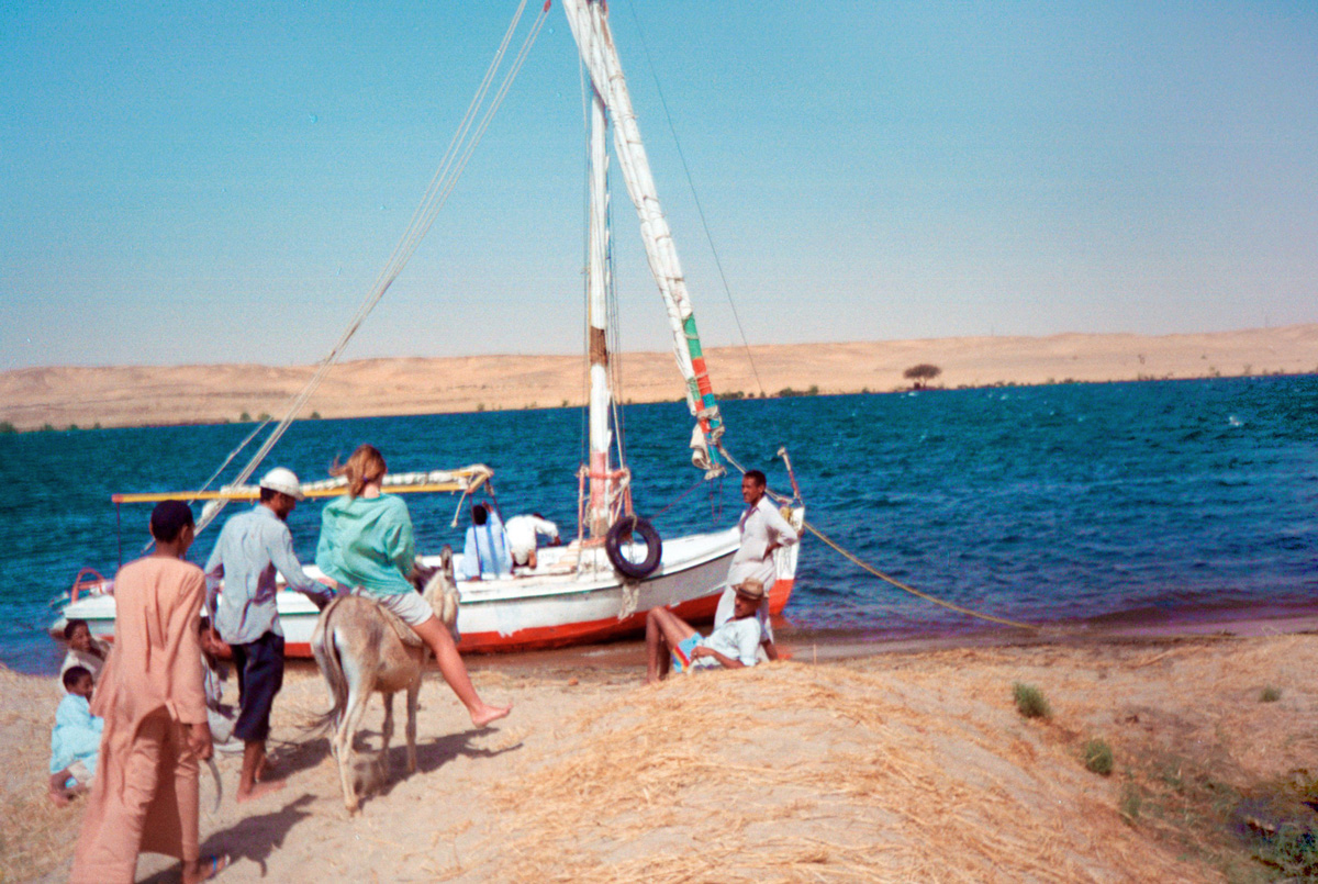 egypt-ladies-on-donkey